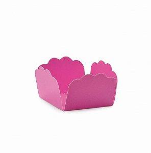 Forminha P/ Doces Lisa Pink Cromus C/ 50 Un.