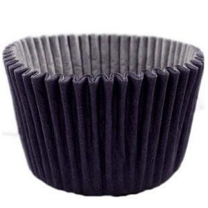 Forma P/ Mini Cupcake Preta Mago C/ 45 Un.