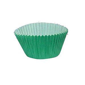 Forma P/ Cupcake Nº 0 Verde Mago C/ 45 Un.