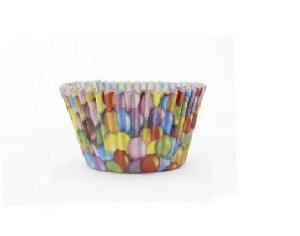 Forma P/ Mini Cupcake Confeitos Mago C/ 45 Un.