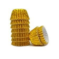 Forma Papel Nº 04 Laminada Ouro Mago C/ 50 Un.