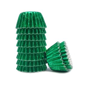 Forma Papel Nº 04 Laminada Verde Mago C/ 50 Un.