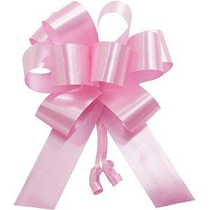 Laço Pronto Flor Grande Rosa Interfitas Un.