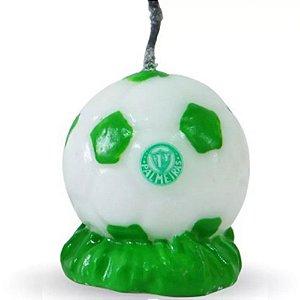 Vela Bola de Futebol Palmeiras Velart Un.