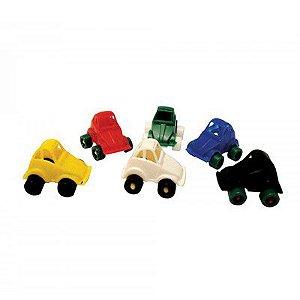 Mini Fusca de Plastico Chocomar C/ 5 Un.