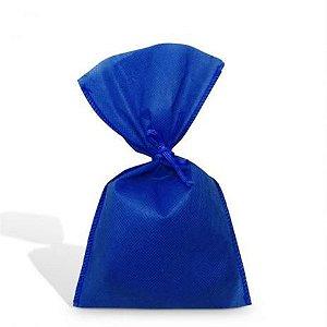 Saco Tnt Azul Royal 90X1.40Cm Liso C/ Laço Interfitas Un.