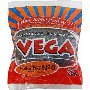 Palha de Aço Vega Nº0 C/ 25G