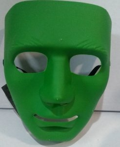 Mascara Unicolor Verde Un.
