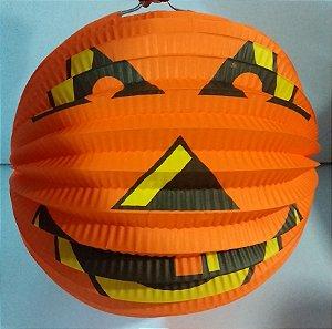 Enfeite Halloween Abobora Un.