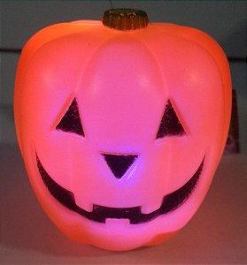 Enfeite Halloween Cabeça de Abobora C/ Led Un.