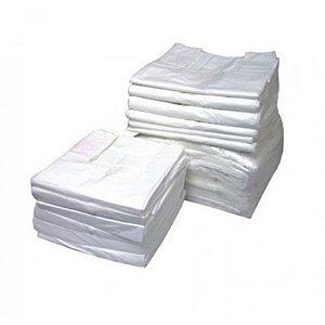 Sacola Plast. Branca 1º linha 40x50 Fd C/ 5 Kg