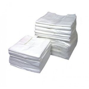 Sacola Plast. Branca 1º linha 90x100 Fd C/ 5 Kg