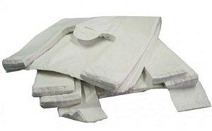Sacola Plast. Branca Reciclada 30x40 Fd C/ 5 Kg