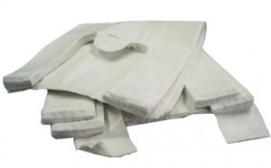 Sacola Plast. Branca Reciclada 35x45 Fd C/ 5 Kg