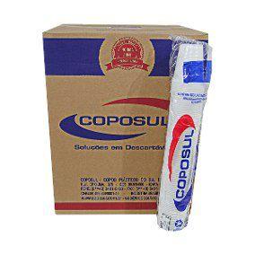 Copo Descartável 180 ml. Coposul Transp. Cx C/ 2500 Un.