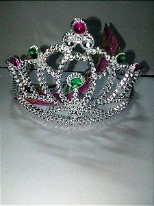 Tiara Coroa Diamante Princesa Un.
