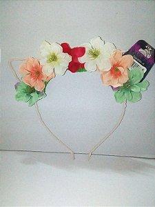 Tiara de Flores Un.