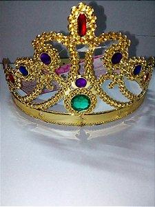 Coroa Dourada Princesa Un.
