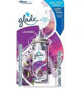 Odorizante Glade Click Lavanda Refil C/ 12Ml