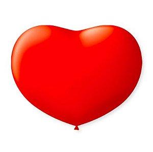 Balão Coração Vermelho 6.0 São Roque C/ 50 Un.