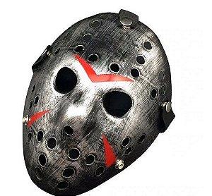 Mascara Hockey Cinza Un.