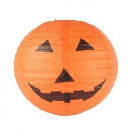 Enfeite Bola Abóbora Halloween Un.