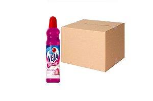 Desinfetante Perfume Flores e Sonhos Veja Cx C/ 24X500 Ml
