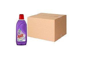 Desinfetante Flores De Lavanda Ajax Cx C/ 12X500 Ml