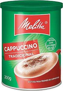 Cappuccino Tradicional Melitta C/ 200 Gr.