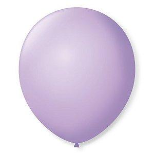 Balão 7,0 Lilás Bebê Balloon Tech C/ 50 Un.