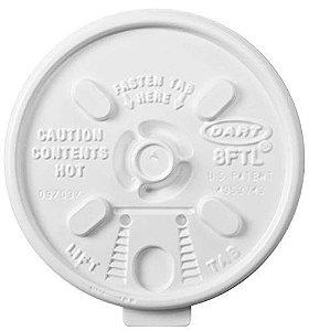 Tampa Copo Térmico 200/240 Ml (8FTL) Dart C/ 25 Un.