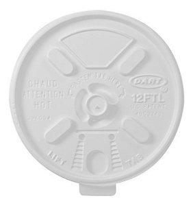 Tampa Copo Térmico 360 Ml (12FTL) Dart C/ 25 Un.
