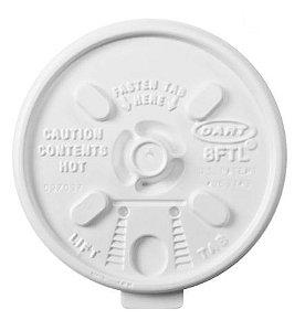 Tampa Copo Térmico 180 Ml (6FTL) Dart C/ 25 Un.
