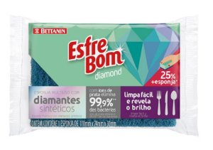 Esponja Esfrebom Diamond Bettanin Un.