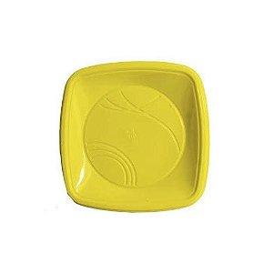 Prato 21 Cm (QD) Amarelo Trik C/ 10 Un.