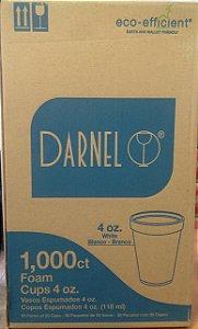 Copo Térmico EPS 118Ml (4oz) Darnel Cx C/ 50X20 Un.