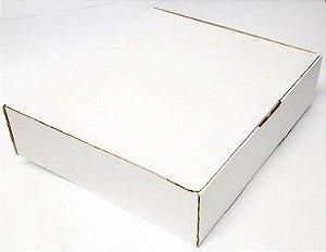 Caixa Esfiha Média 25,5x25,5x5Cm c/25Un.
