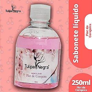 SABONETE LIQUIDO TULIPA NEGRA FLOR DE CEREJEIRA 250 ML