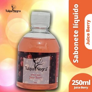 SABONETE LIQUIDO TULIPA NEGRA JUICE BERRY A 250 ML