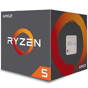 PROCESSADOR AMD RYZEN R5 2600X 3.6GHZ 19MB CACHE AM4