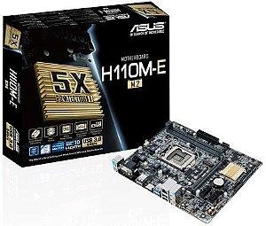 PLACA MÃE ASUS H110M-E M.2 DDR4 LGA1151