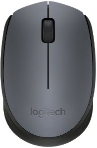 MOUSE LOGITECH M170 WIRELESS USB GREY