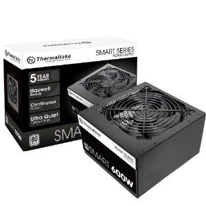 FONTE THERMALTAKE SMART 600W 80 PLUS PS-SPD-0600NPCWBZ-W