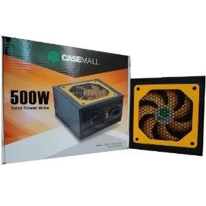 FONTE CASEMALL 500W TOTAL POWRT WIDE ALL-500TPW