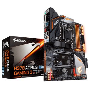 PLACA MÃE GIGABYTE H370 AORUS GAMING 3 DDR4 LGA1151