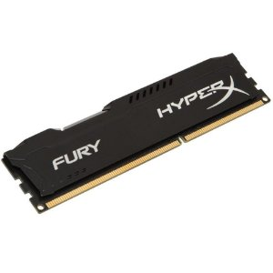 MEMÓRIA KINGSTON HYPERX FURY 8GB 1600MHz DDR3 CL10 Black Series - HX316C10FB/8