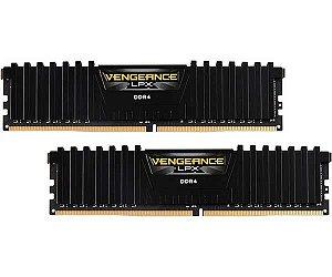 MEMÓRIA CORSAIR VENGEANCE LPX 16GB (2x8GB) 3000MHz DDR4 CL 16 - CMK16GX4M2D3000C16