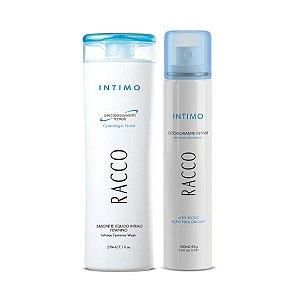 Kit - Intimos Tradicional (Sabonete Intimo + Desodorante Jato Seco) Racco.