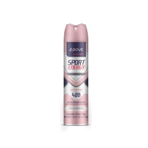 Desodorante Antitranspirante Jato Seco Above 48 horas Women Sport Energy 150ml.