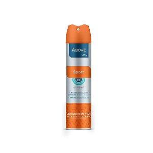Desodorante Antitranspirante Jato Seco Above 48 horas Men Sport 150ml.